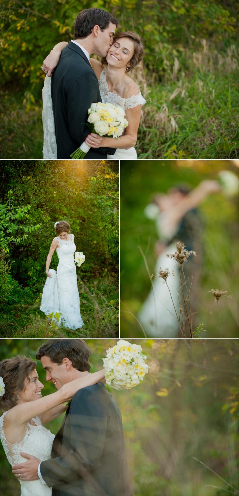 Fall Chicago Wedding, Glen Ellyn Bible Church Wedding, Chicagoland Wedding Photography