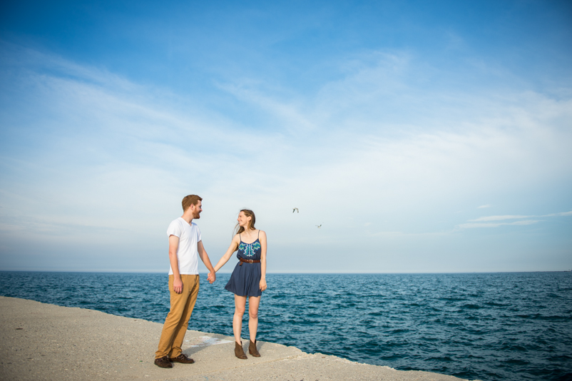 North Avenue Beach Engagement, Aurora Il wedding photography, Lake Michigan Engagement, Wheaton IL Wedding photography, Lakefront engagement